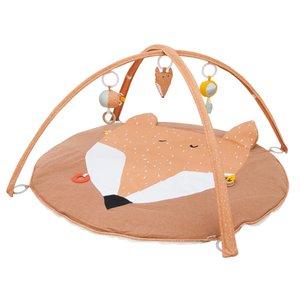 Trixie Trixie babygym Mr. Fox speelboog & speelkleed met activiteitenspeeltjes