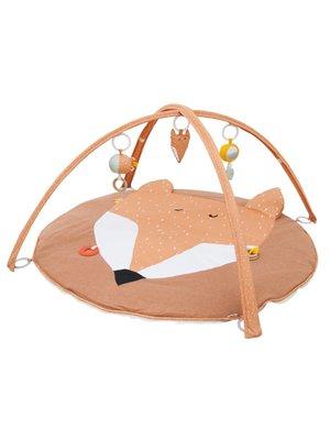 Trixie Trixie babygym Mr Fox speelboog & speelkleed met activiteitenspeeltjes