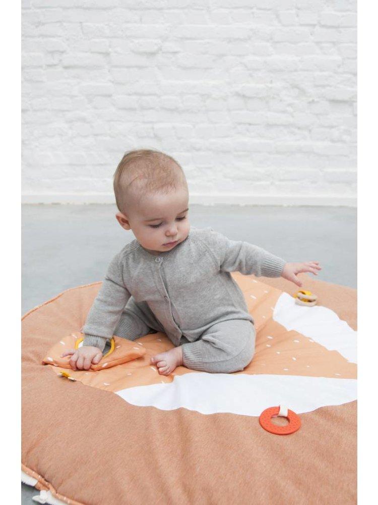 Trixie Babygym Mr Fox speelboog & speelkleed met activiteitenspeeltjes