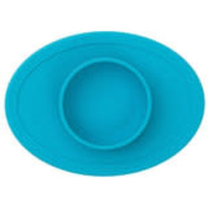 EZPZ EZPZ tiny bowl Placemat & bowl in one Blue/ blauw