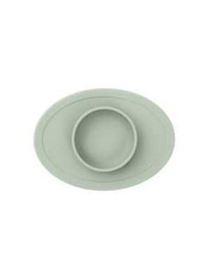 EZPZ EZPZ tiny bowl Placemat & bowl in one Sage/ Groen