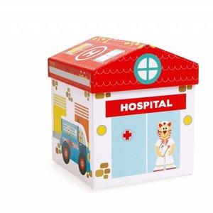 2 in 1 Speel box  Ziekenhuis +3j