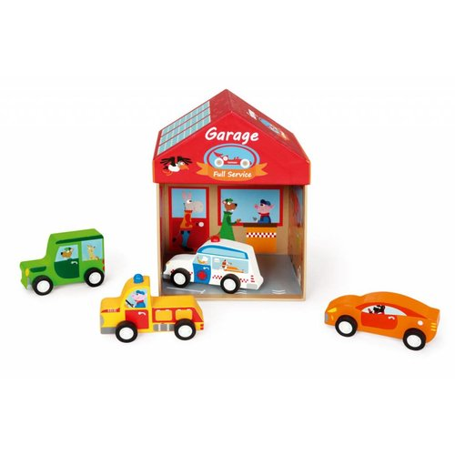 2 in 1 Speel box Garage +3j