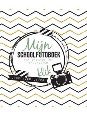Mijn schoolfotoboek - Plak- en invulboek