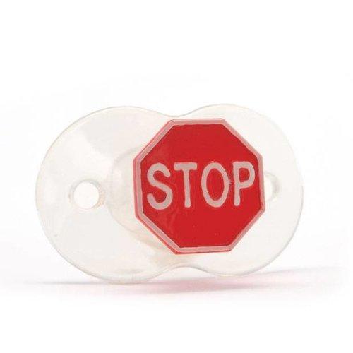 Bitten design Siliconen speen Stop!