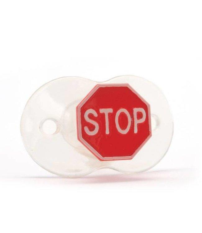 Siliconen speen Stop!