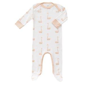 Fresk Fresk pyjama met voetjes Swan Pale Peach