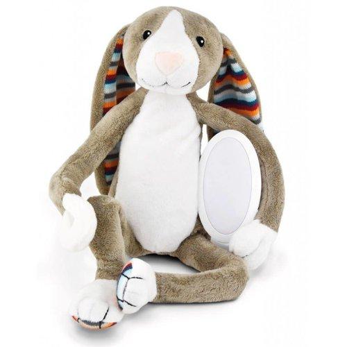 Zazu ZAZU - Bo the bunny knuffel met lichtje en muziek