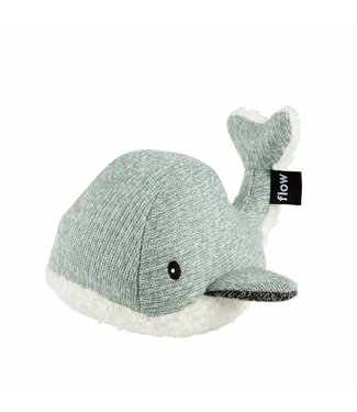 Flow Moby the Whale - green hartslagknuffel