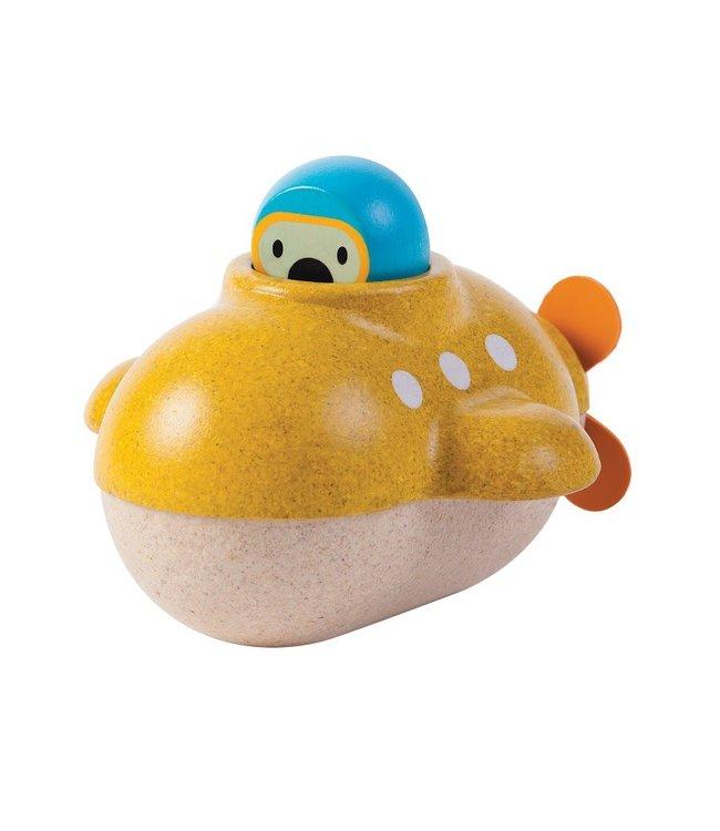 Plan Toys Submarine - Onderzeeër van duurzaam hout
