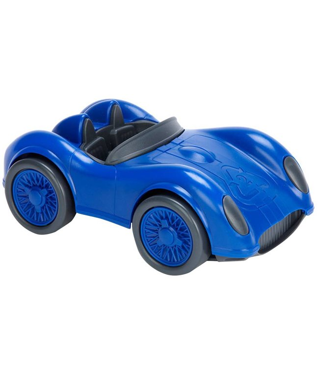 Green Toys Race car Blue - Racewagen van gerecycled plastic