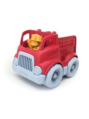 Green Toys Fire Engine - Braandweerauto van gerecycled plastic