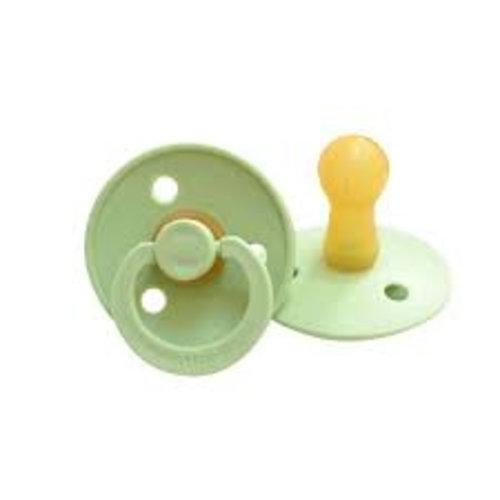 Bibs Bibs speen natuurlijk rubber Pistachio/ Pistache maat 2 (6-18 maanden)