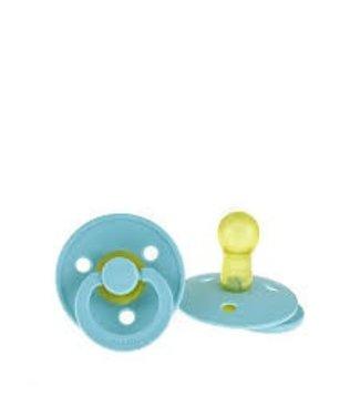 Bibs Bibs speen natuurlijk rubber Baby Blue maat 2 (6-18 maanden)