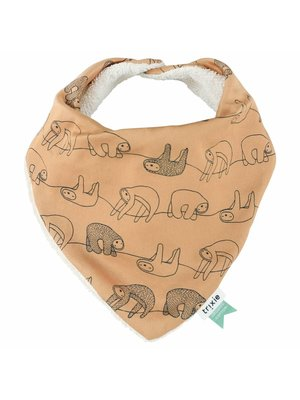 Trixie Bandana slab Organic Cotton Silly Sloth