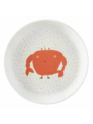 Trixie Bamboe bordje Mrs Crab