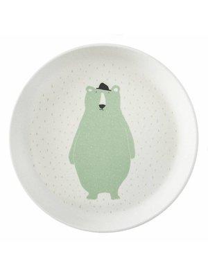 Trixie Bamboe bordje Mr Polar Bear