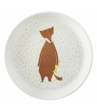 Trixie Bamboe bordje Mr Fox