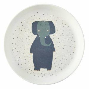 Trixie Trixie bamboe bordje Mrs Elephant