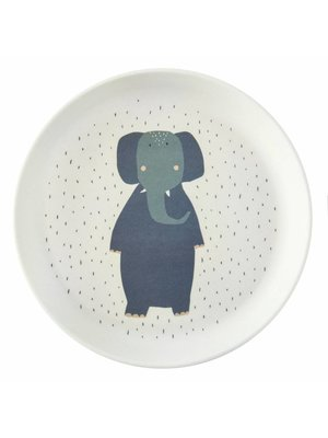 Trixie Bamboe bordje Mrs Elephant
