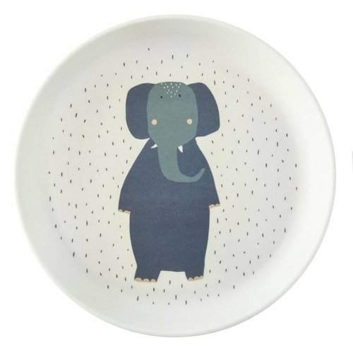 Trixie Trixie bamboe bordje Mrs Elephant