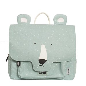 Trixie Trixie schooltas/rugtas Mr Polar Bear IJsbeer