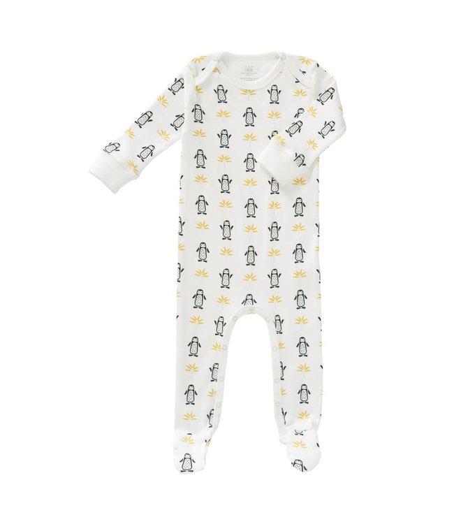 Fresk Fresk pyjama met voetjes Pinguin
