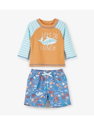Hatley Baby Rashguard set Ocean Animals
