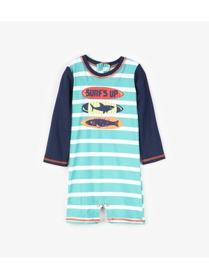 Hatley Baby Rashguard one-piece Surf Boards
