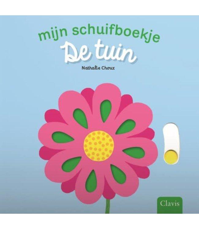 De tuin - Schuifboekje. Nathalie Choux