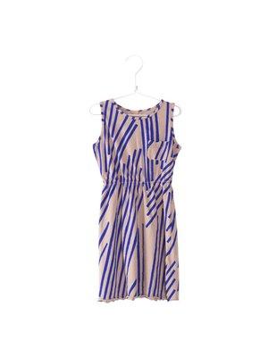 Lotiekids Dress sleeveless Stripes old pink
