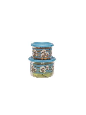 Sugarbooger Sugarbooger Snackbox set 2 st. Baby Otter