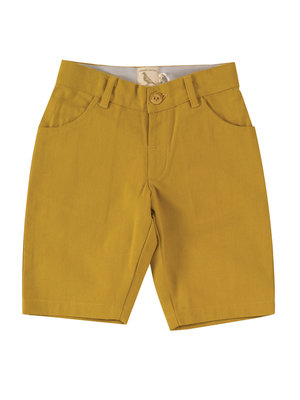 Pigeon Canvas Shorts Mustard