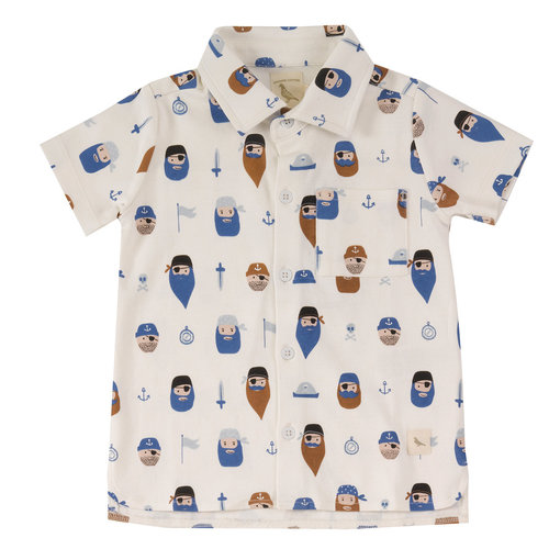 Pigeon Jersey shirt met print Pirates