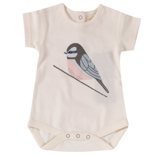 Pigeon Romper Birds [single print]