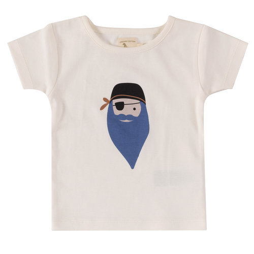 Pigeon T-shirt korte mouw Pirate blue