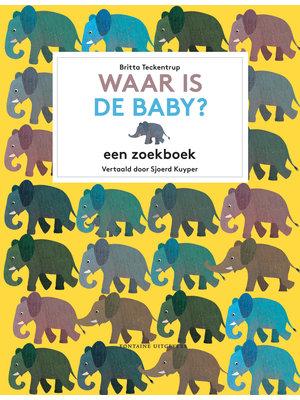 Fontaine uitgevers Waar is de baby? Zoekboek Britta Teckentrup