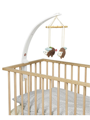 Franck and Fischer Franck and Fischer baby amuse mobiel hout wit