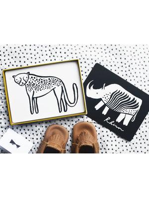 Wee Gallery Art cards Safari Wee Gallery