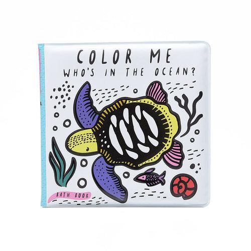Wee Gallery Bath Book Color me Ocean Wee Gallery