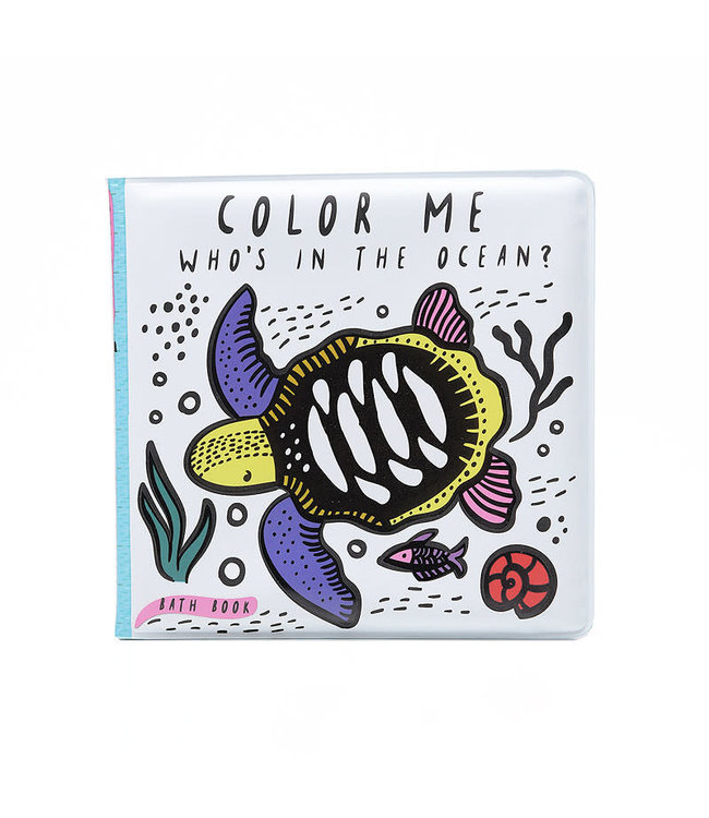 Wee Gallery Bath Book Color me Ocean