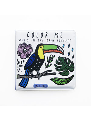 Wee Gallery Bath Book Color me Rainforest Wee Gallery