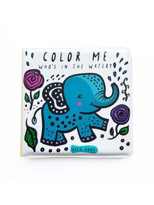 Wee Gallery Bath Book Color me Water