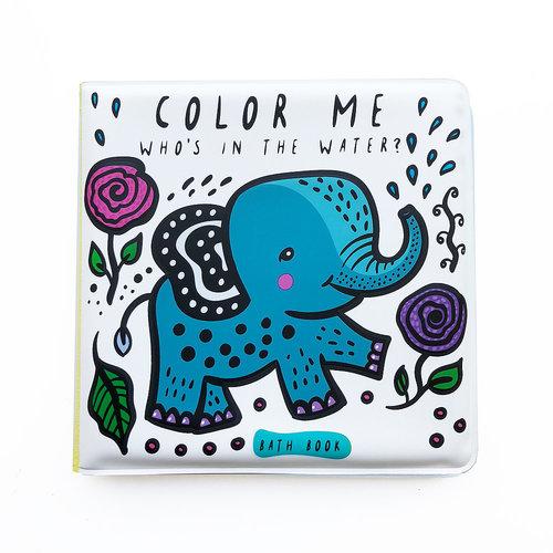 Wee Gallery Bath Book Color me Water Wee Gallery
