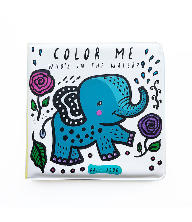 Wee Gallery Bath Book Color me Water