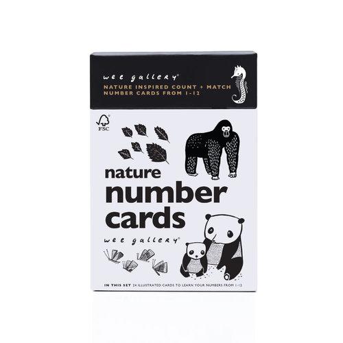Wee Gallery Nature Number Cards Wee Gallery