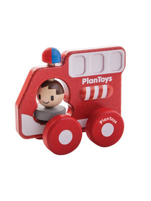 Plan Toys Brandweerauto Plan Toys