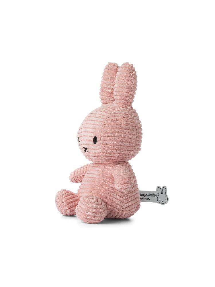 Nijntje Nijntje knuffel Corduroy Pink - 23 cm