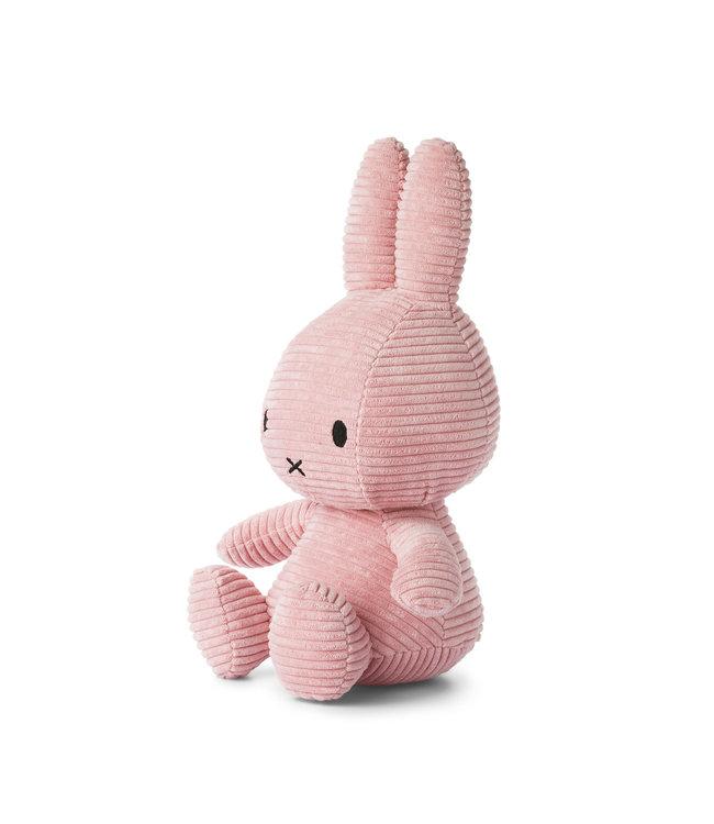 Nijntje Nijntje knuffel Corduroy Pink - 33 cm