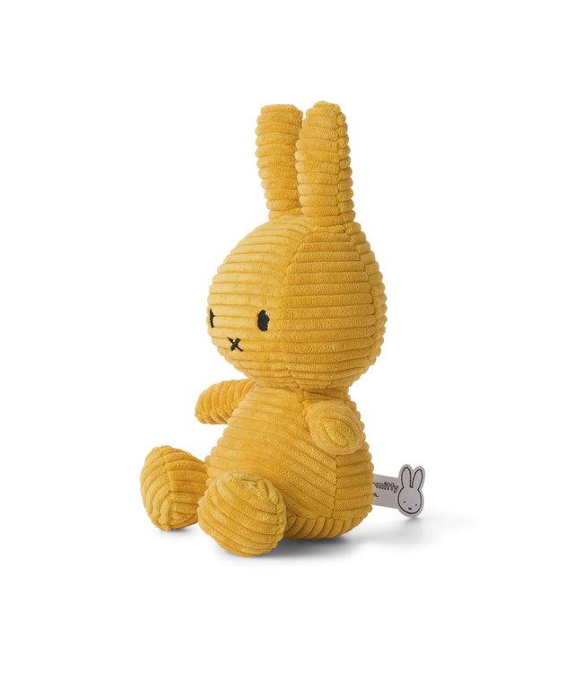 Nijntje Nijntje knuffel Corduroy Yellow - 33 cm